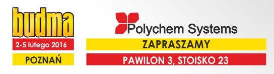 Polychem Systems na targach BUDMA