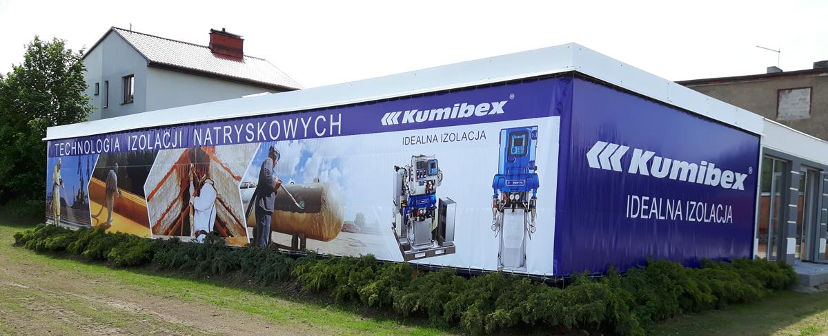 Nowa siedziba działu Graco w firmie Kumibex