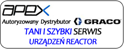 Apex - serwis reaktorów Graco