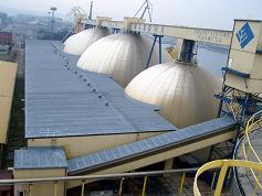 Modernizacja dachu Bałtyckiej Bazy Masowej pianka PUR