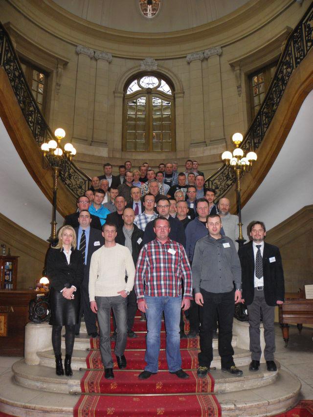 Zdjęcie grupowe uczestników szkolenia w Świerklańcu 7-8.02.2013
