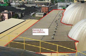Renowacja dachu Bałtyckiej Bazy Masowej pianką PUR (3)